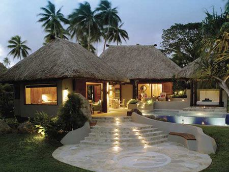 Jean-Michel Cousteau Fiji Islands Resort in #Fiji - we stayed in this very villa and its just the best!!