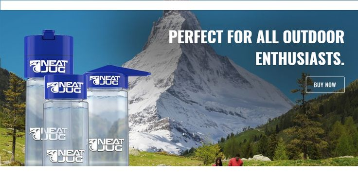 Neat jug water purification bottles are the perfect accessory to home use and for Hikers, Mountain Climbers, Kayakers, Paddle boarders and campers, easy to carry and purify your water quickly.