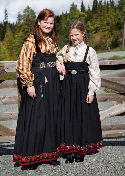 Bunad for daily wear. From Krødsherad