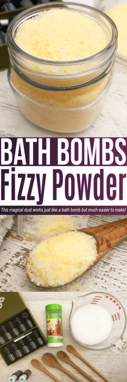 Bath bomb powder is great to make if you love bath bombs but don't have the time or patience to prepare into bath bomb molds. This bath bomb dust can be layered to make different scents and will fizz just like a lush bath bomb would!  #lush #bathbombs #diy #allnatural #eo #essentialoil #essentialoils #bath
