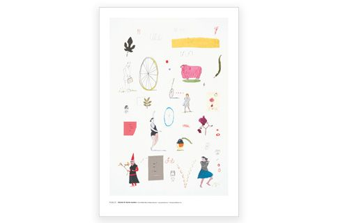 Maira Kalman 20 X 30 Poster