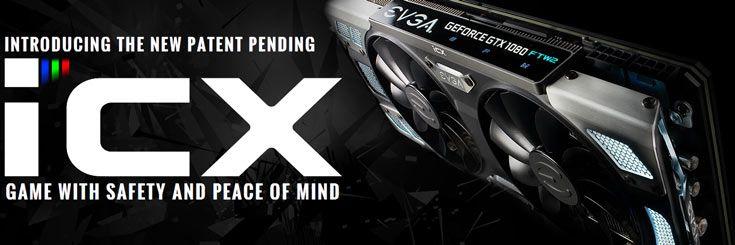 На CES 2017 замечены 3D-карты EVGA GeForce GTX 1080 и 1070 с новым охладителем iCX