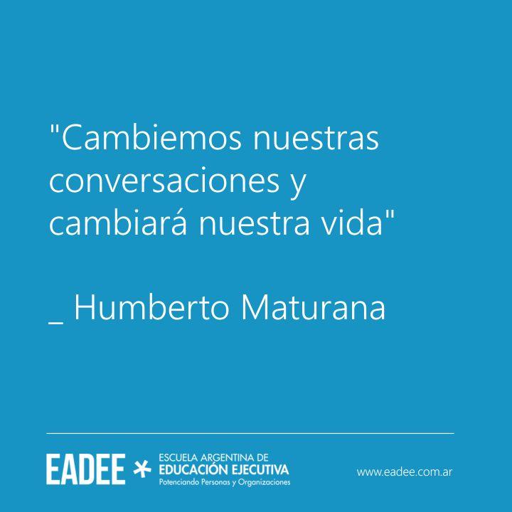 Humberto Maturana Frases