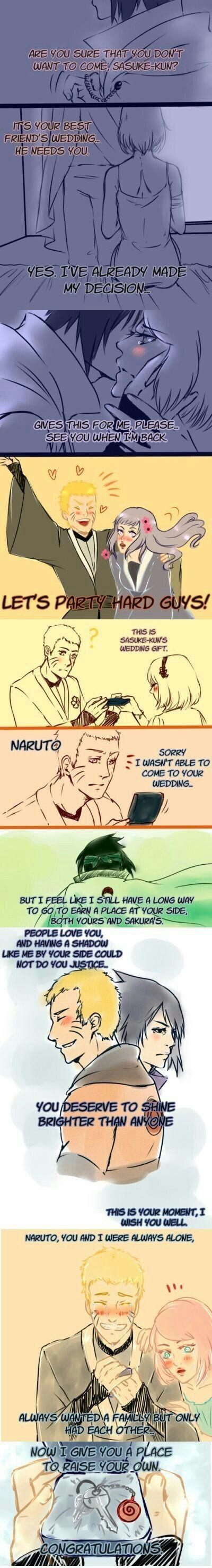I just cried........
