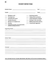 ParentTeacher Conference Documentation Form Printable PreK