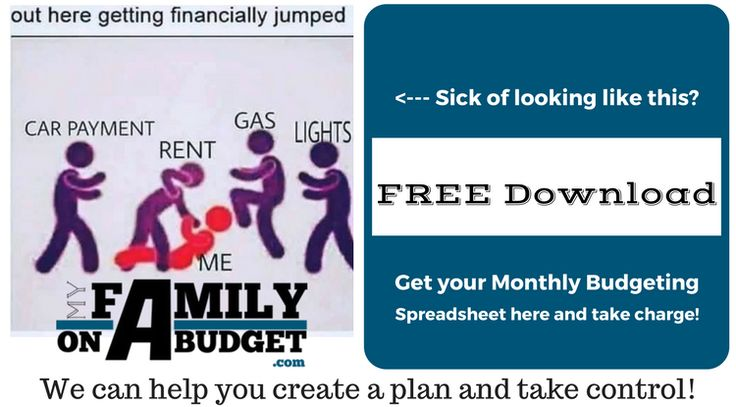 Tired of not having a monthly personal budget? Use this template that's grown my family's net worth by more than 500% over the last 5 years for free!