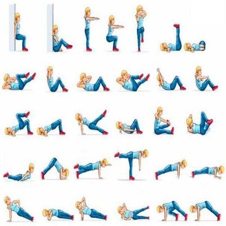 Хорошее Упражнение Для Похудения Ляшек.