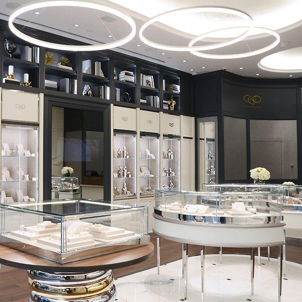 SheridanCo Creates New Retail Interior Design For Links Of London Toronto Store