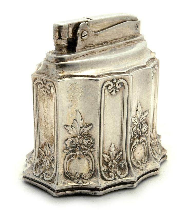 silver lighter antique vintage lighters pinterest. Black Bedroom Furniture Sets. Home Design Ideas