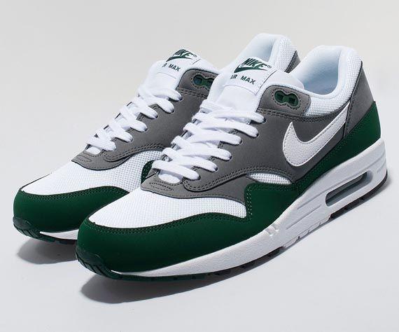 Nike Air Max 1 - Green - Grey - White - SneakerNews.com