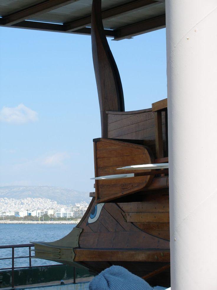 Trireme Ram ( Έμβολο Τριήρους ) Photographer Eleni Sgouridou (Architect)