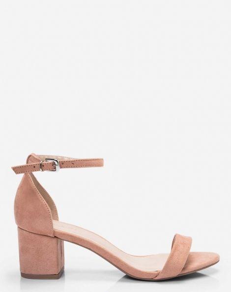 56c90a3a5 SANDÁLIA PULSEIRA SALTO GROSSO BAIXO | Shoes in 2019 | Sapatos ...