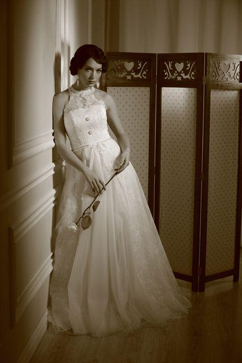 Свадебная съемка в стиле ретро. Журнал: Wedding magazine. Фотограф: Константин Мохнач. Платье: ТМ Максима