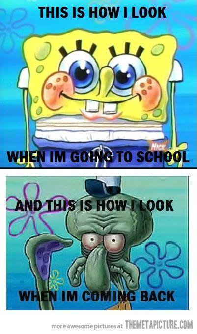School changes you…