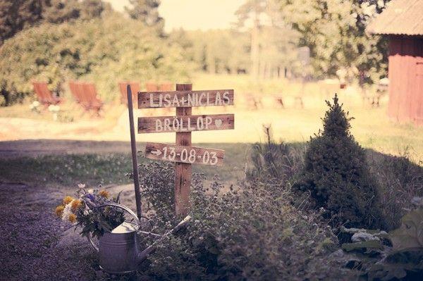 Wedding signs @ Ditt Bröllop