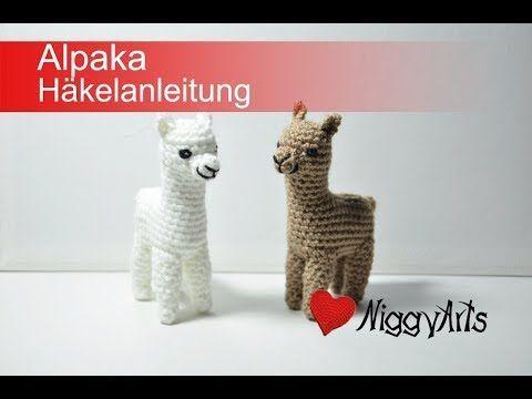 Alpaka Häkelanleitung – YouTube – Marina Graf