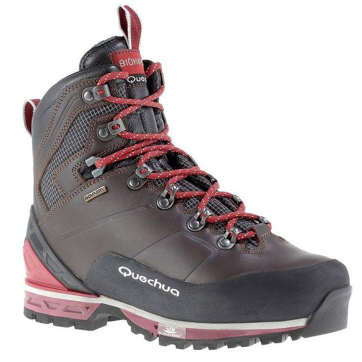 Senderismo Mujer Deportes de Montaña, Esquí - Botas de Montaña Bionnassay Mujer Novadry QUECHUA - Calzado de Montaña