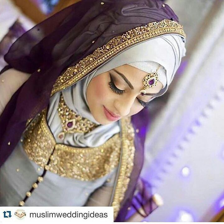 #bridalhijabstyles #inspiration #bridal #hijab #hijabbride Check out @muslimweddingideas for more inspiration by s.a._hijabi_lifestyle