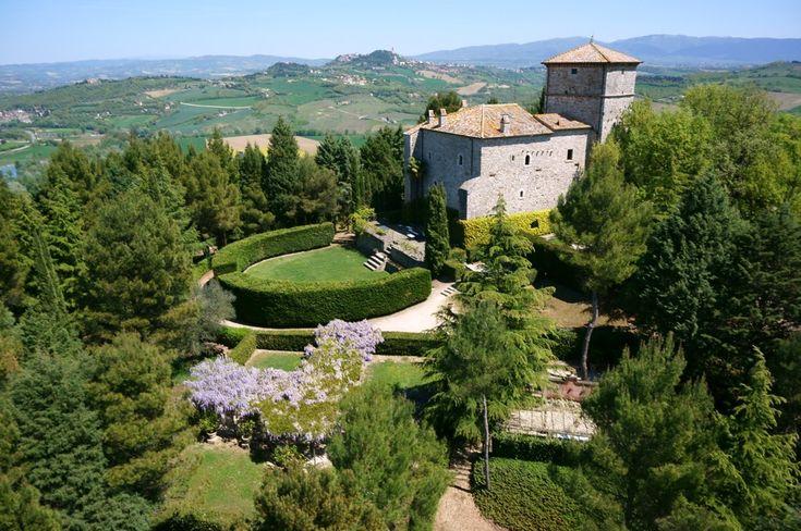 Medieval #Castle in #Todi - #Umbria