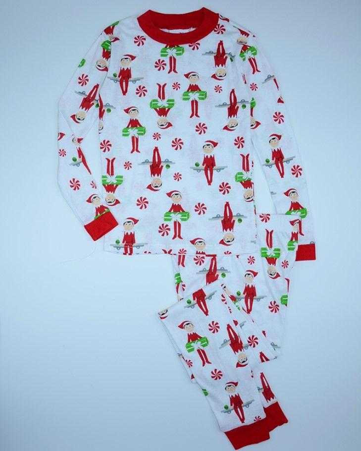 Xmas Одежда Продажа 2016 Новый Мультфильм Дети Пижамные Комплекты, дети Пижамы Пижамы Семейные Рождественские Пижамы Малышей Детские Пижамы