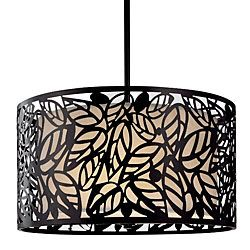 @Overstock - This modern hanging light is ideal for any room that features contemporary decor. The fixture has a leaf design that is eye catching and will add character to a room. It includes everything needed for the chandelier to be professionally installed.http://www.overstock.com/Home-Garden/Metal-Leaf-Hanging-Light/3488813/product.html?CID=214117 $119.99