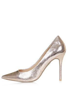 GEMINI2 Metallic Court Shoes