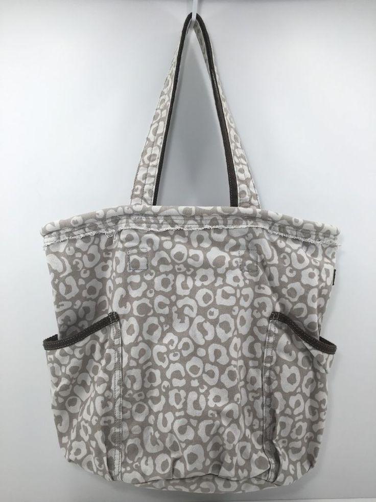 Thirty One 31 Retro Metro Bag Say It Taupe Tote Handbag Purse 26 | eBay