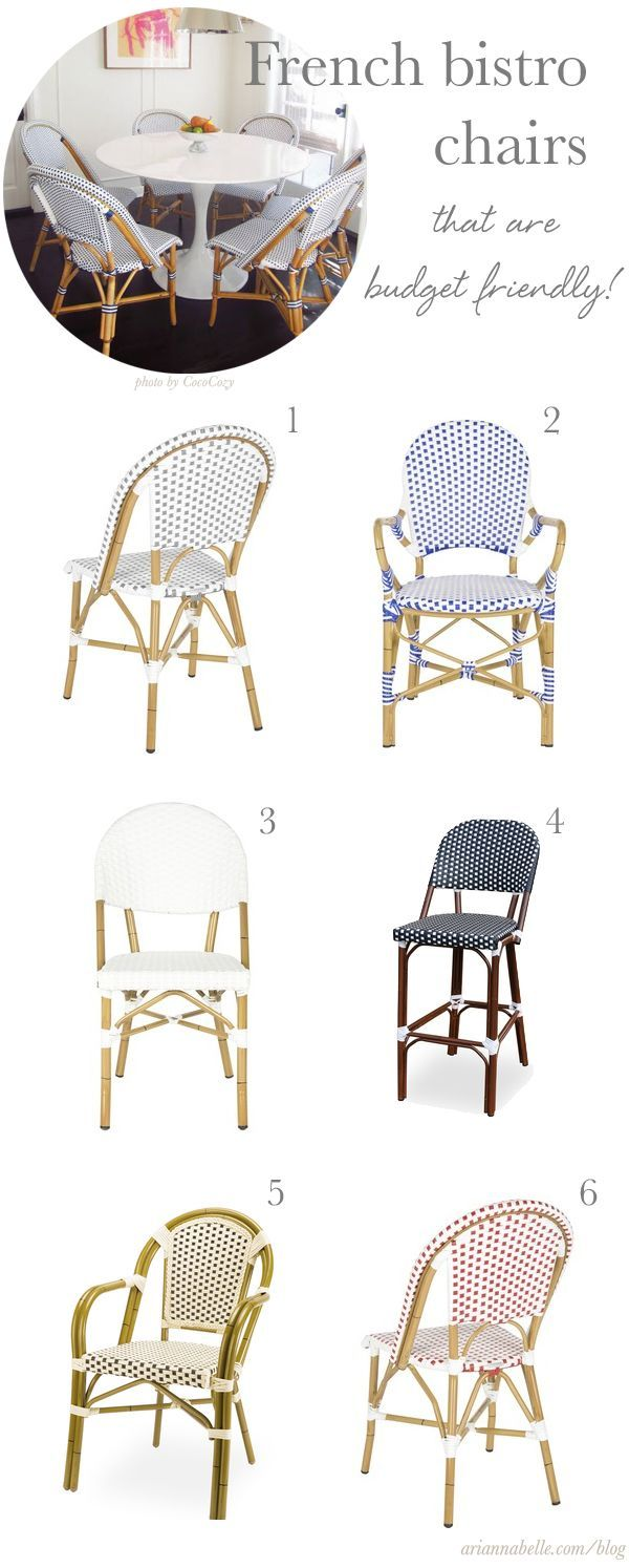 Yellow frame vintage sheet metal french cafe and bistro armless chairs - Budget Friendly French Bistro Chairs
