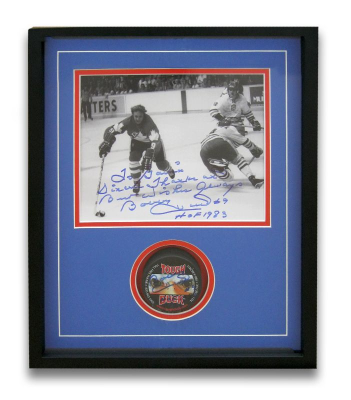 Signed Memorabilia | Examples | Custom Framing | Pictures Frames and More