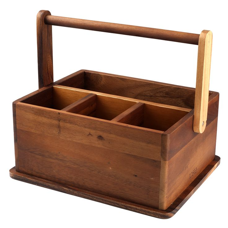 Davis & Waddell - Taste Acacia Wood Barbeque Caddy | Peter's of Kensington