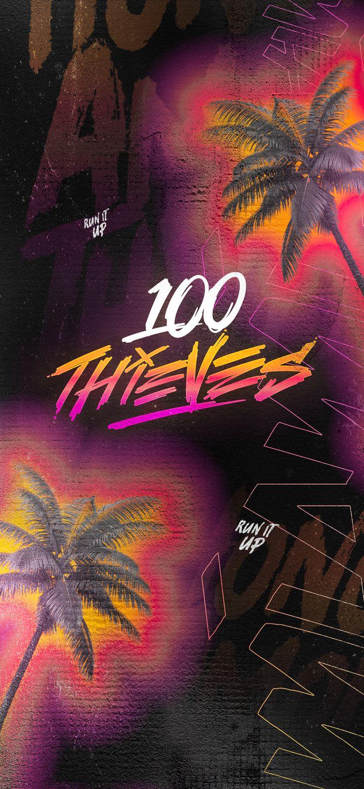 100 Thieves 2019 Call of Duty World League Miami Theme ...