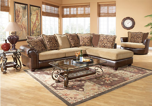 Shop for a westmont place 5 pc living room at rooms to go for Find living room furniture