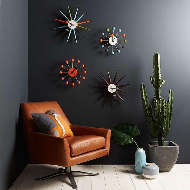 BuyVitra Sunburst Clock, Dia.47cm, Multi Online at johnlewis.com