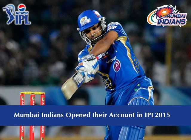 In yesterday's match between Mumbai Indians and Royal Challengers  Bangalore, it was a day perfectly