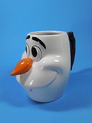 Olaf Coffee Hot Cocoa Mug Ceramic Frozen Snowman Disney 3D