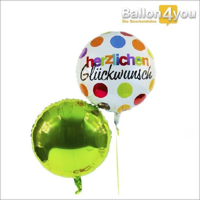 """Dieses farbenprächtige Ballonbukett eignet sich ideal als Überraschung zum Geburtstag, zur bestandenen Prüfung und vielem mehr. Lassen Sie die beschenkte Person """"hochschweben"""", mit den besten Glückwünschen von Ballon4You."""