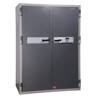 Hollon Safe 2 Hr Fireproof Electronic Lock Commercial Drawer Office Safe Size: 23 CuFt
