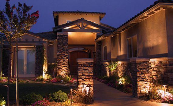 Security Lighting Installation Exterior Lighting Led Outdoor Landscape Lighting House Exterior