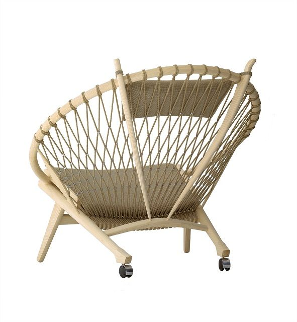 beige nordic chair