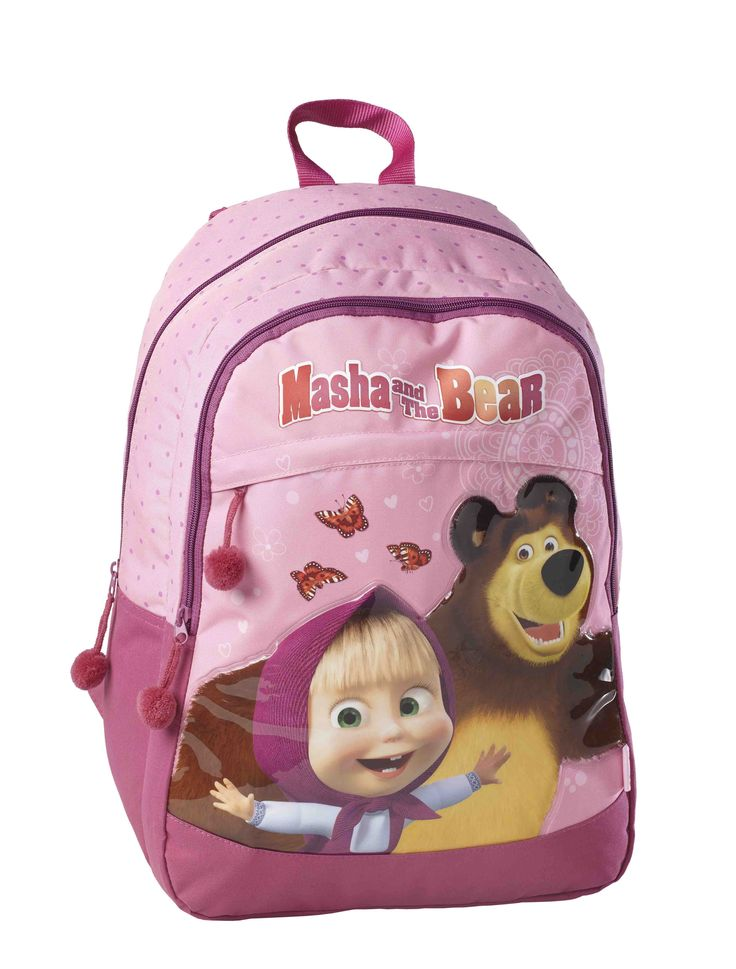 Backpack Masha and the Bear   #Kstationery #mashaandthebear