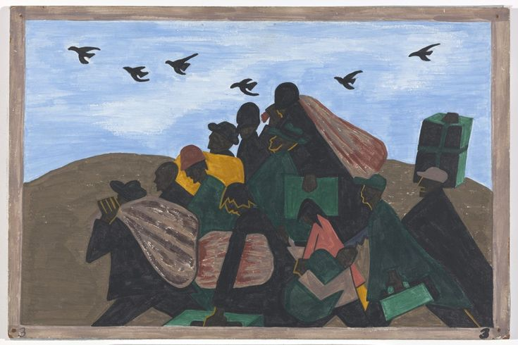 Black Lives Matter in Jacob Lawrence's 1940s 'Migration Series,' Now on Rare View at MoMA - CityLab