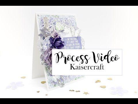 card created for Kaisercraft - YouTube