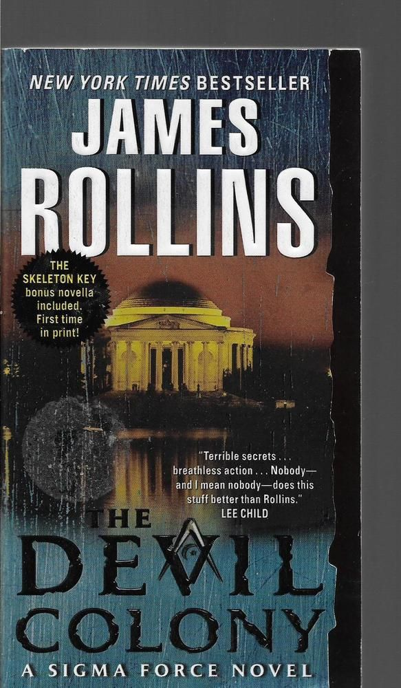 The Devil Colony  by James Rollins ( Paperback)