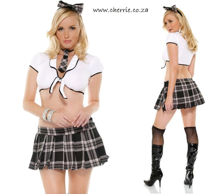 Sexy fact: The schoolgirl is the number one fantasy of men! Who knew?!