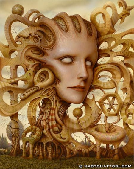 Surrealism and Visionary art: Naoto Hattori