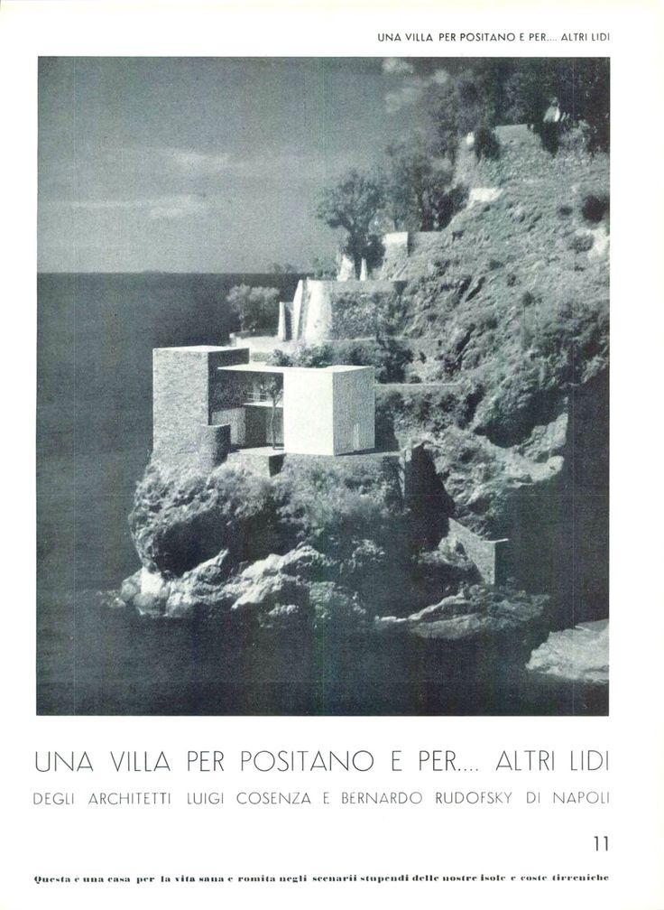 Villa Per Positano , Rudofsky & Luigi Cosenza