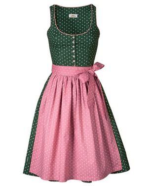 Almsach Dirndl (grün) - Dirndl - Trachtenmode - Damenmode Online Shop - Frankonia.de