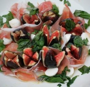 black fig, parma ham and mozzarella salad: Jamie Olivers sexiest salad in the world