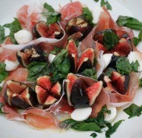 black fig, parma ham and mozzarella salad: Jamie Olivers sexiest salad in the world