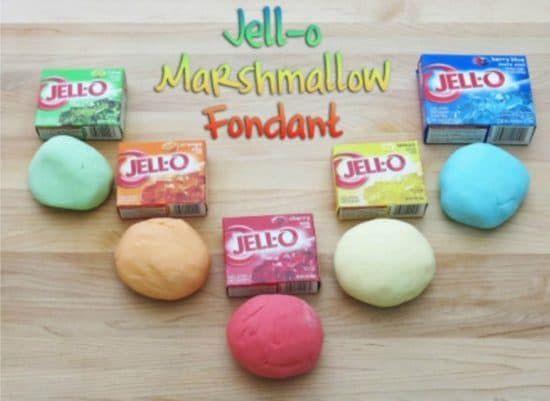 Jello Marshmallow Fondant Recipe